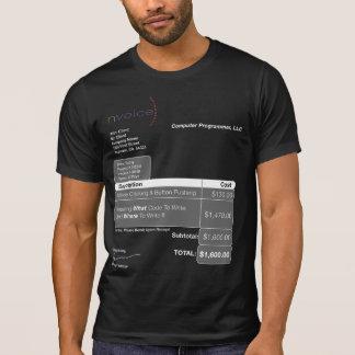 T-shirt Obscurité d'informaticien