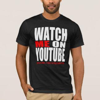T-shirt Observez-moi sur YouTube (moderne)