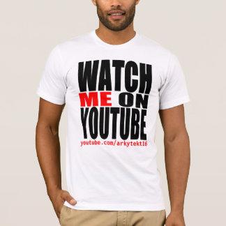 T-shirt Observez-moi sur YouTube   modernes (foncé)