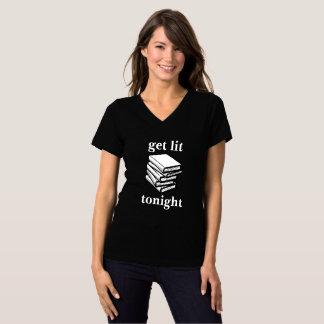 T-shirt Obtenez le Lit… ce soir (les livres)