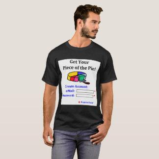 T-shirt Obtenez votre morceau du mot de passe d'email de