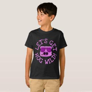 T-shirt Obtenons le porc sauvage