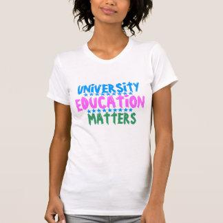 T-shirt Obtention du diplôme d'ÉDUCATION d'UNIVERSITÉ