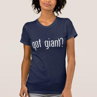 T-shirt obtenu géant ?