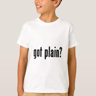 T-shirt obtenu simple ?