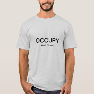 T-shirt Occupez Wall Street (simple)