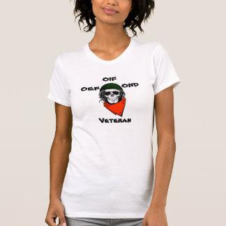 T-shirt OEF, OIF, vétéran d'OND