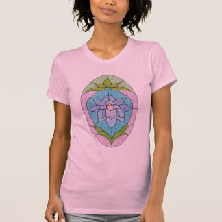 T-shirt Oeuf en verre souillé