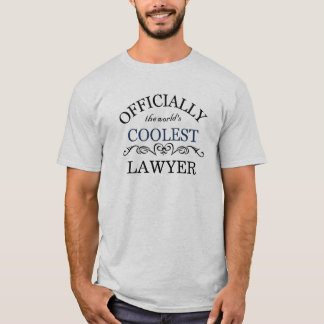 T-shirt Officiellement l'avocat le plus frais du monde