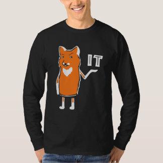 T-shirt Oh Fox il drôle frais humoristique sarcastique