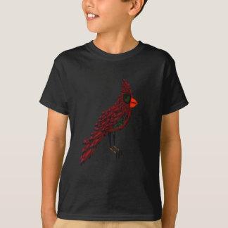 T-shirt Oiseau cardinal de Cadillac de la science-fiction