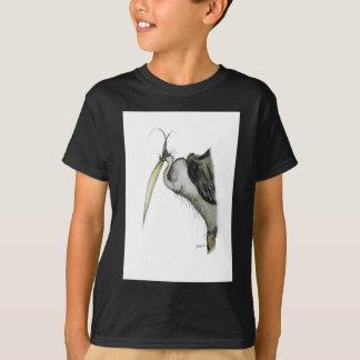 T-shirt oiseau de héron, fernandes élégants
