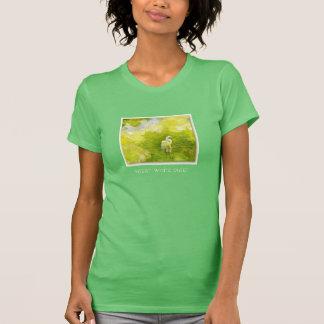 T-shirt Oiseau d'eau : Grand héron blanc