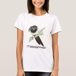 T-shirt Oiseau mignon de pie, Birding, nature, faune,