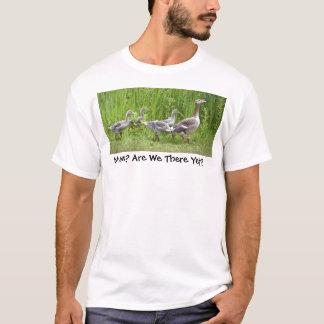 T-shirt Oisons d'oie de mère principaux dans le sauvage