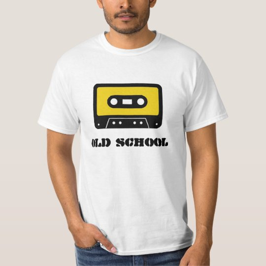T-shirt OLD SCHOOL tape
