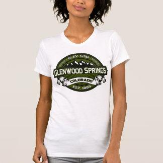 T-shirt Olive de chemise de logo de Glenwood
