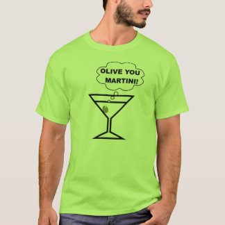 T-shirt Olive vous Martini