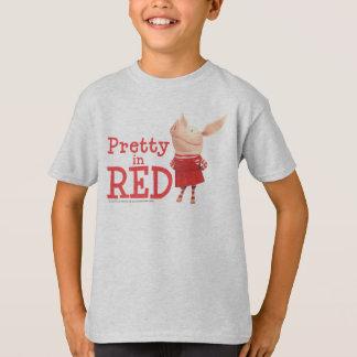 T-shirt Olivia - assez en rouge