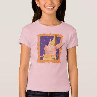 T-shirt Olivia - dans le cadre jaune