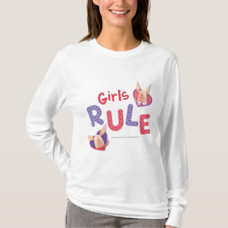T-shirt Olivia - règle de filles