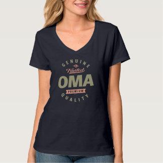 T-shirt Oma véritable
