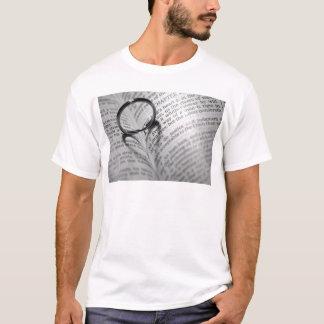 T-shirt Ombre de coeur de bible