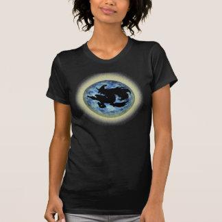 T-shirt Ombre de lune de sorcière de KRW Halloween