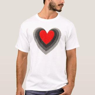 T-shirt Ombre du coeur