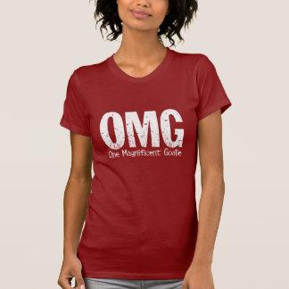 T-shirt OMG : Un gardien de but magnifique (hockey)
