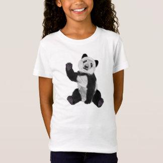 T-Shirt Ondulation d'ours panda