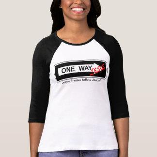 T-shirt One Way Jesus