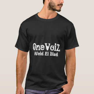 T-shirt OneVoiZ, EL Blad de soudure