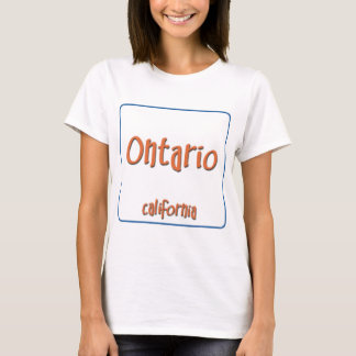 T-shirt Ontario la Californie BlueBox
