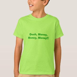 T-shirt Oooh, argent, argent, argent ! ! !
