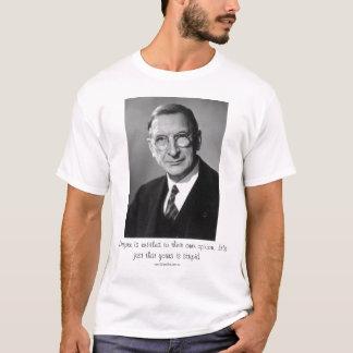 T-shirt Opinion stupide