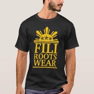 T-shirt or audacieux de filirootswear