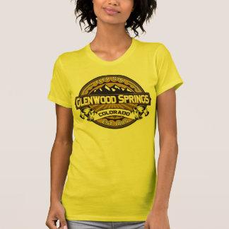T-shirt Or de chemise de logo de Glenwood