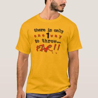 T-shirt Or de lanceurs