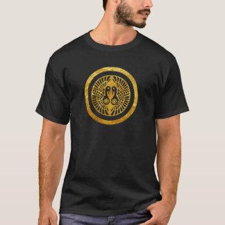 T-shirt Or japonais de faux de clan d'Ikko Ikki lundi sur