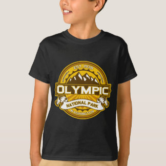 T-shirt Or olympique