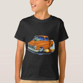 T-shirt Orange 1957 de collecte de Chevy