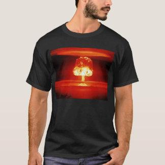 T-shirt Orange de bombe atomique