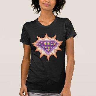 T-shirt Orange Starburst de Supergirl