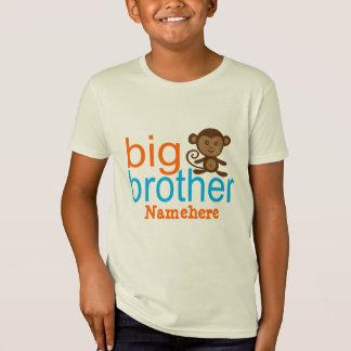 T-shirt organique customisé de singe de frère