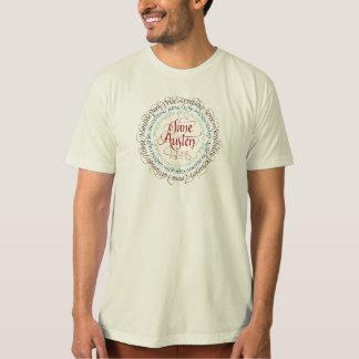 T-shirt organique de drames de période de Jane