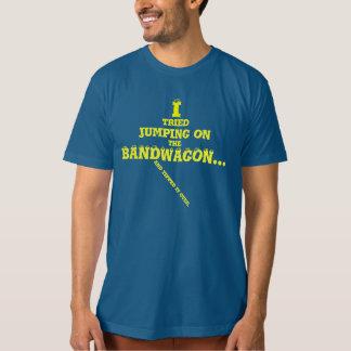 T-shirt organique de globe oculaire de mouvement