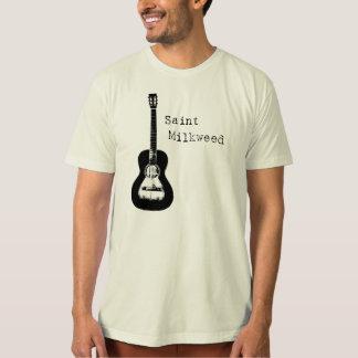 "T-shirt organique de ""guitare"" de Milkweed de"