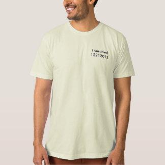 T-shirt organique - j'ai survécu à 2012