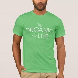 T-shirt ORGANIQUE - organique pour la chemise de la vie